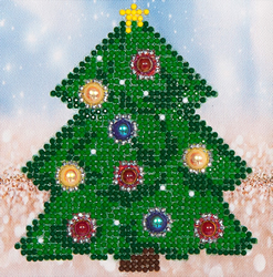 Diamond Dotz Christmas Tree - Needleart World