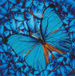 Diamond Dotz Flutter by Blue - Needleart World