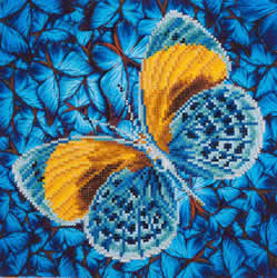Diamond Dotz Flutter by Gold - Needleart World