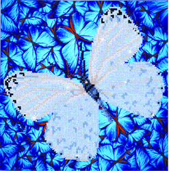 Diamond Dotz Flutterby White - Needleart World