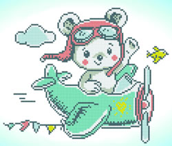 Diamond Dotz Aero Bear - Needleart World