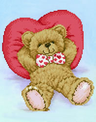 Diamond Dotz Relax-A-Bear - Needleart World