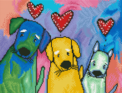 Diamond Dotz Three Amigos - Needleart World