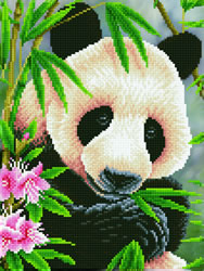 Diamond Dotz Panda Prince - Needleart World