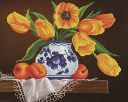 Diamond Dotz Yellow Tulips - Needleart World