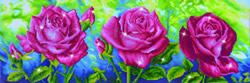 Diamond Dotz  Les Roses du Jardin - Needleart World