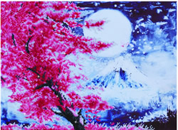 Diamond Dotz Cherry Blossom Mountain - Needleart World