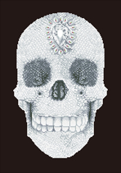 Diamond Dotz Crystal Skull - Needleart World