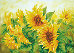 Diamond Dotz Hazy Daze Sunflowers - Needleart World