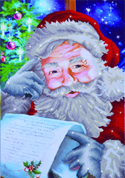 Diamond Dotz Santa's Wish List - Needleart World
