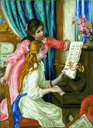 Diamond Dotz Girl's at the Piano (Renoir) - Needleart World
