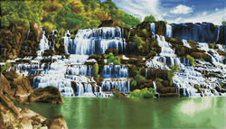 Diamond Dotz Pongour Waterfall - Needleart World