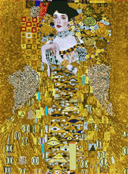 Diamond Dotz Woman in Gold - Needleart World