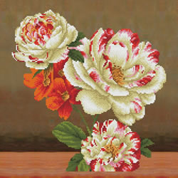 Diamond Dotz Camellia & Lilly Bouquet - Needleart World