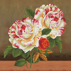 Diamond Dotz Camellia & Rose Bouquet - Needleart World
