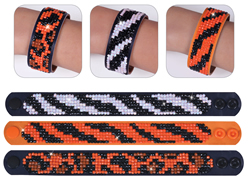 Diamond Dotz 3 Armbanden Multi Pack - Animal Prints - Needleart World