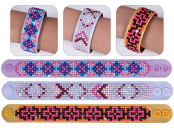 Diamond Dotz 3 Armbanden Multi Pack - Geometric - Needleart World