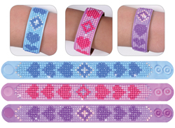 Diamond Dotz 3 Armbanden Multi Pack - Love - Needleart World