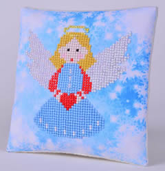 Diamond Dotz Christmas Angel Kussentje - Needleart World