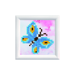 Diamond Dotz Butterfly Sparkle DD Kit with Frame - Needleart World