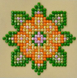 Diamond Dotz Flower Mandala 1 - Needleart World