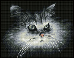 Diamond Dotz Shadow Cat - Needleart World