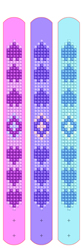 Diamond Dotz Dotzies 3 Bracelets Multi Pack - Love - Needleart World
