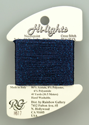 Hi-Lights Midnight Blue - Rainbow Gallery