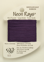 Neon Rays Purple - Rainbow Gallery