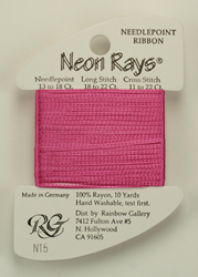 Neon Rays Rose Pink - Rainbow Gallery