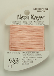 Neon Rays Pale Peach - Rainbow Gallery