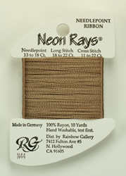Neon Rays Lite Smoke Brown - Rainbow Gallery