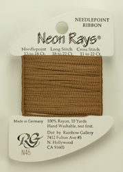 Neon Rays Medium Smoke Brown - Rainbow Gallery