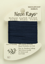 Neon Rays Midnight Blue - Rainbow Gallery