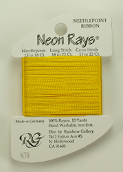 Neon Rays Bright Gold - Rainbow Gallery