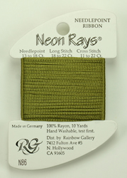 Neon Rays Avocado - Rainbow Gallery