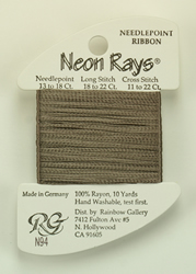 Neon Rays Gray - Rainbow Gallery