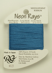 Neon Rays Lite Federal Blue - Rainbow Gallery