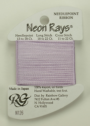 Neon Rays Lilac - Rainbow Gallery