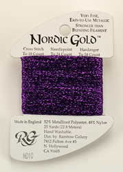 Nordic Gold Purple - Rainbow Gallery