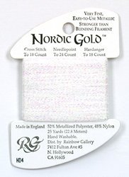 Nordic Gold White Pearl - Rainbow Gallery
