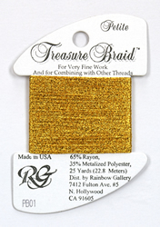 Petite Treasure Braid Bright Gold - Rainbow Gallery
