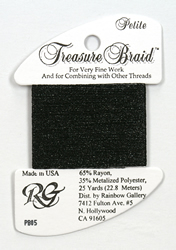 Petite Treasure Braid Black - Rainbow Gallery
