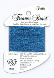 Petite Treasure Braid Royal Blue - Rainbow Gallery