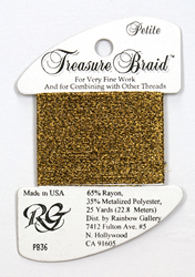 Petite Treasure Braid Antique Gold - Rainbow Gallery
