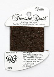 Petite Treasure Braid Brown - Rainbow Gallery