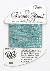 Petite Treasure Braid Morning Waters - Rainbow Gallery