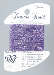 Petite Treasure Braid Orchid - Rainbow Gallery