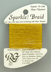 Sparkle Braid Yellow Gold - Rainbow Gallery