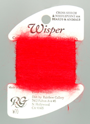Wisper Red - Rainbow Gallery
